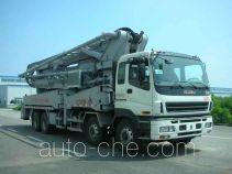 凯帆牌KFM5380THB47W型混凝土泵车