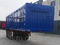 蒙驼凯力达一牌KLD9407CCY型仓栅式运输半挂车