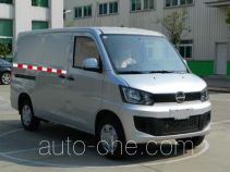 海格牌KLQ5020XXYEV5型纯电动厢式运输车