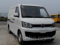 海格牌KLQ5020XXYEV10型纯电动厢式运输车