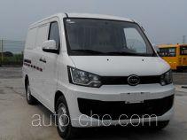 海格牌KLQ5020XXYEV9型纯电动厢式运输车