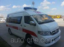 海格牌KLQ5030XJHQ5型救护车