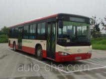 海格牌KLQ6109GAHEVE4B型混合动力城市客车