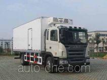 天载牌KLT5160XLC型冷藏车