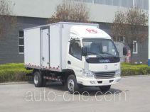 凯马牌KMC5041XXYEV28D型纯电动厢式运输车