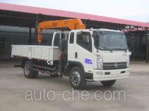 Kama KMC5102JSQA42P5 truck mounted loader crane