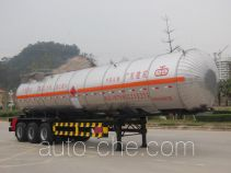 Jiuyuan KP9400GRY flammable liquid tank trailer