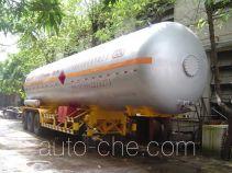 Jiuyuan KP9400GYQ liquefied gas tank trailer