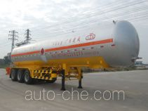 Jiuyuan KP9401GRY flammable liquid tank trailer