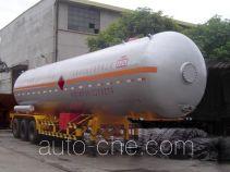 Jiuyuan KP9401GYQ liquefied gas tank trailer