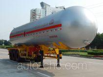Jiuyuan KP9405GYQBA liquefied gas tank trailer