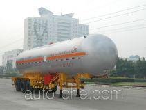 Jiuyuan KP9407GYQ liquefied gas tank trailer