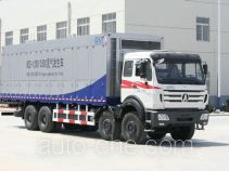 Nitrogen generating plant truck