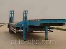 骜通牌LAT9190TDP型低平板半挂车