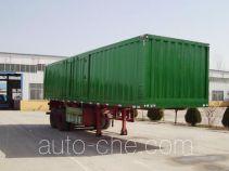 Aotong LAT9350XXY полуприцеп фургон