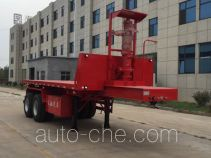 Luchi LC9350ZZXP flatbed dump trailer