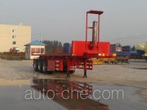 Luchi LC9400ZZXP flatbed dump trailer