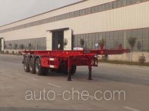 Luchi LC9403TWY dangerous goods tank container skeletal trailer