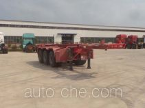 Luchi LC9405TWY dangerous goods tank container skeletal trailer
