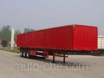鲁驰牌LC9405XXY型厢式运输半挂车