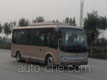 中通牌LCK6671EVG型纯电动城市客车