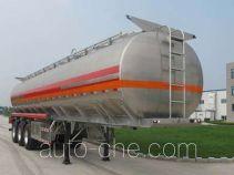 丛林牌LCL9400GYY型铝合金运油半挂车