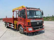 Leader LD5123JSQA5 truck mounted loader crane