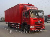 Dongju LDW5160XYKL4D автофургон с подъемными бортами (фургон-бабочка)