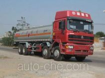 运力牌LG5314GHYZ型化工液体运输车