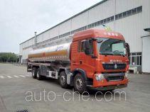 运力牌LG5312GYYZ5型铝合金运油车