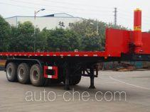 Yunli flatbed dump trailer