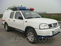 Traffic accident investigation police car