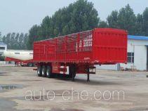 华盛顺翔牌LHS9402CCY型仓栅式运输半挂车