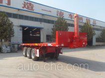 Huasheng Shunxiang LHS9404ZZXP flatbed dump trailer