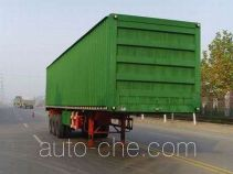 Taicheng LHT9351XXY box body van trailer