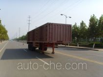 Taicheng LHT9401XXY box body van trailer
