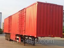 Taicheng box body van trailer