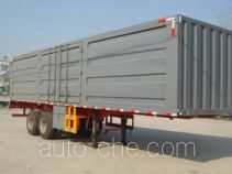 鲁岳牌LHX9301XXY型厢式运输半挂车