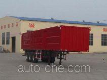鲁岳牌LHX9400XXYD型厢式运输半挂车
