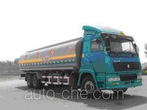 华宇达牌LHY5250GHY型化工液体运输车
