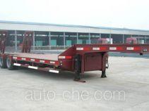 华宇达牌LHY9330TDPA型低平板半挂车