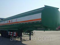 华宇达牌LHY9400GJY型加油半挂车