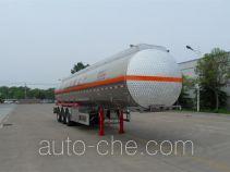 Huayuda LHY9400GRYB flammable liquid aluminum tank trailer