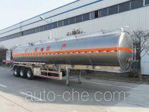 华宇达牌LHY9400GYYA型铝合金运油半挂车