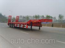 华宇达牌LHY9401TDPA型低平板半挂车