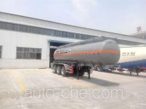 Huayuda LHY9403GFW corrosive materials transport tank trailer