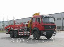 兰矿牌LK5250ZBG型背罐车