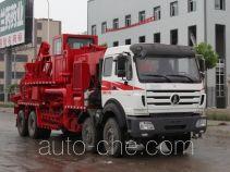 Lankuang LK5272THS360 sand blender truck