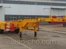 Container transport trailer