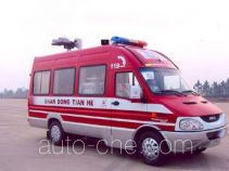 Tianhe LLX5040XXFTZ55 communication fire command vehicle